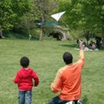 Flying a kite decreases Stress