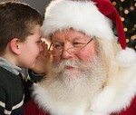 santa little boy blog